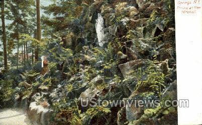 Shrine at Glen Mitchell - Saratoga Springs, New York NY Postcard