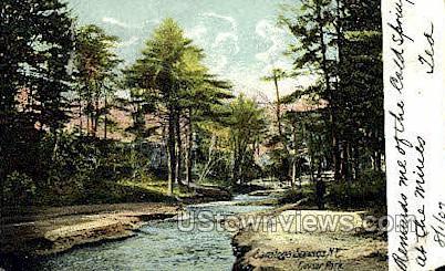 Geyser Park - Saratoga Springs, New York NY Postcard