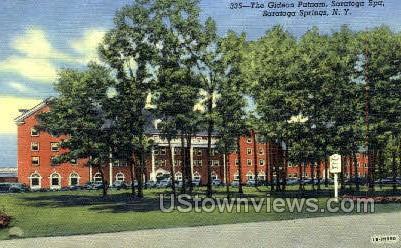 Gideon Putnam - Saratoga Springs, New York NY Postcard