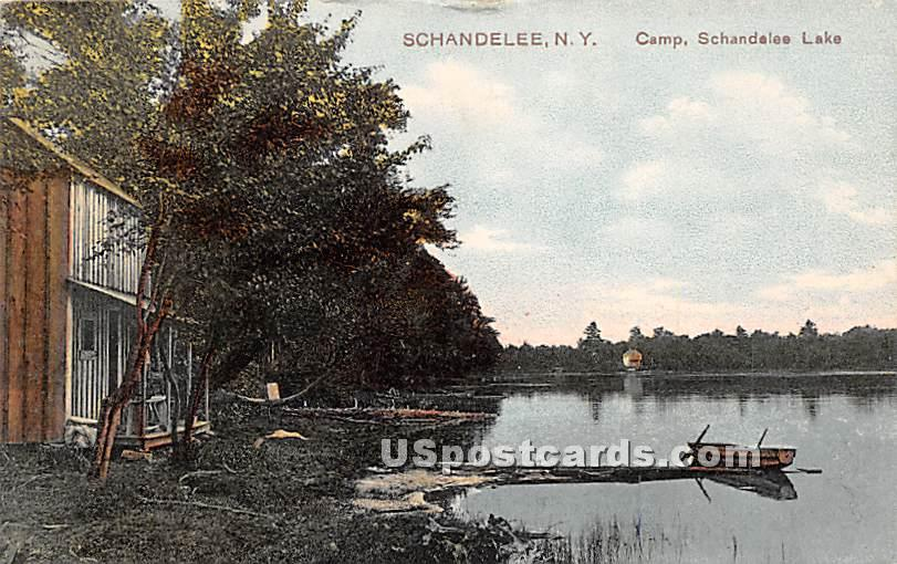 Camp - Shandelee, New York NY Postcard