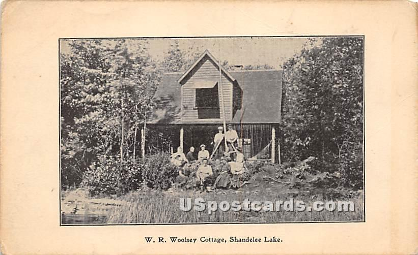 W R Woolsey Cottage - Shandelee, New York NY Postcard