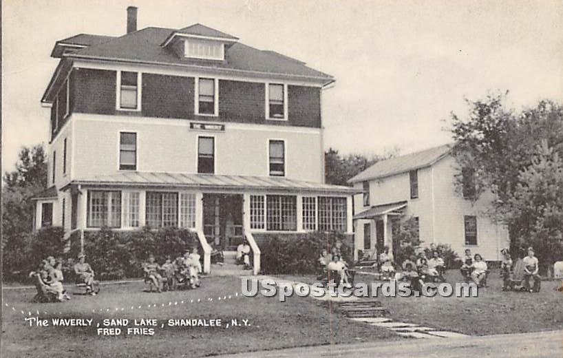The Waverly, Sand Lake - Shandelee, New York NY Postcard
