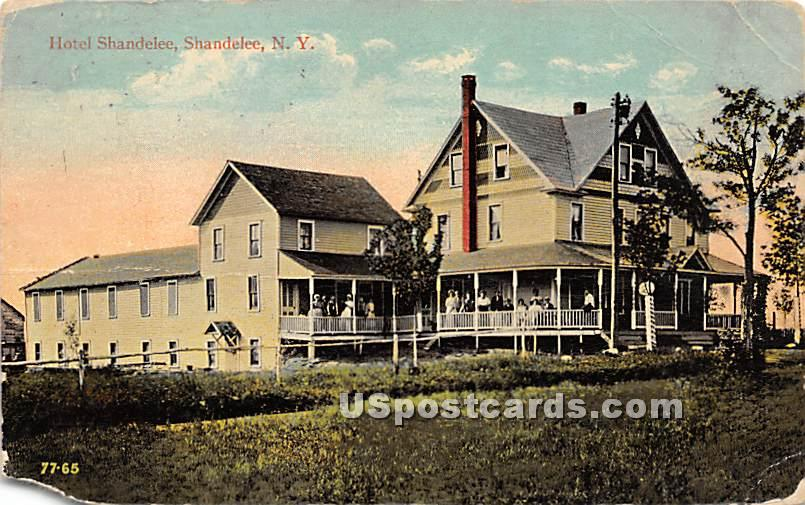 Hotel Shandelee - New York NY Postcard
