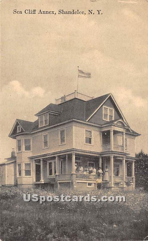 Sea Cliff Annex - Shandelee, New York NY Postcard