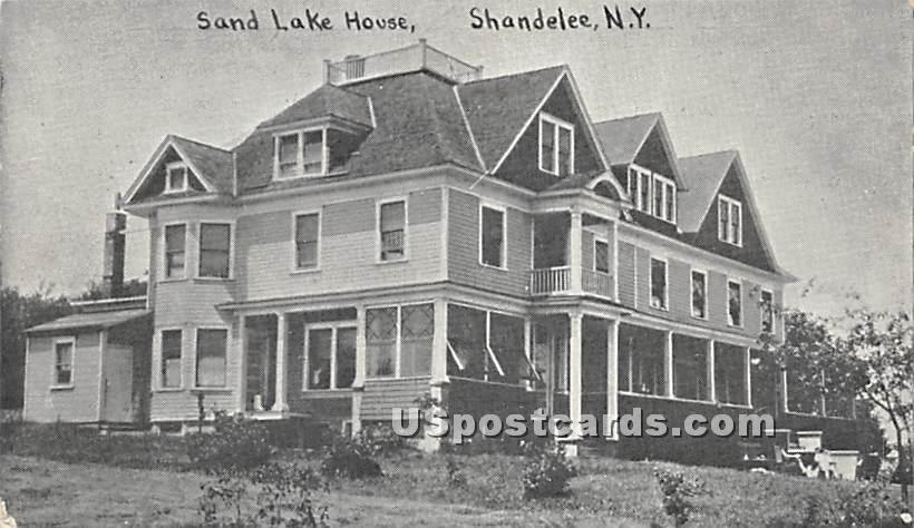 Sand Lake House - Shandelee, New York NY Postcard