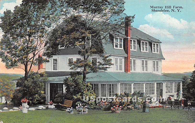 Murray Hill Farm - Shandelee, New York NY Postcard