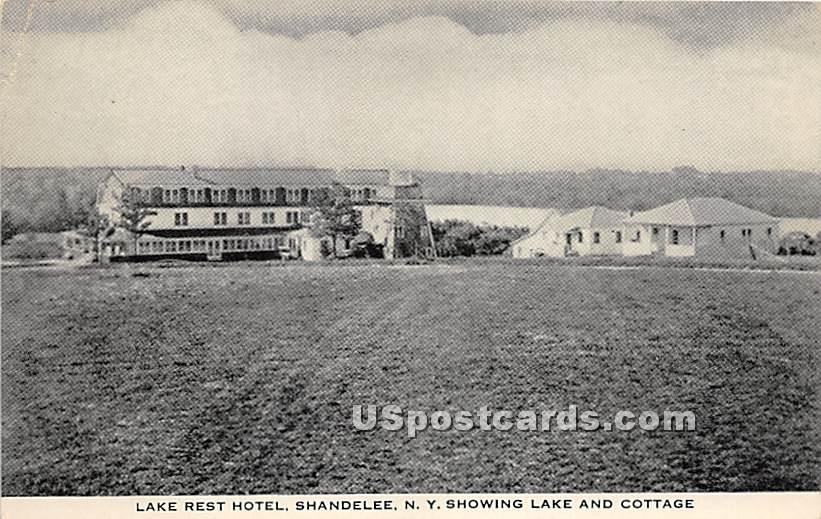 Lake Rest Hotel - Shandelee, New York NY Postcard