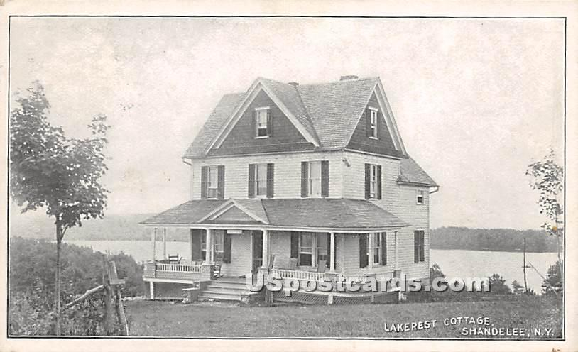 Lakerest Cottage - Shandelee, New York NY Postcard
