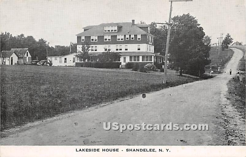 Lakeside House - Shandelee, New York NY Postcard