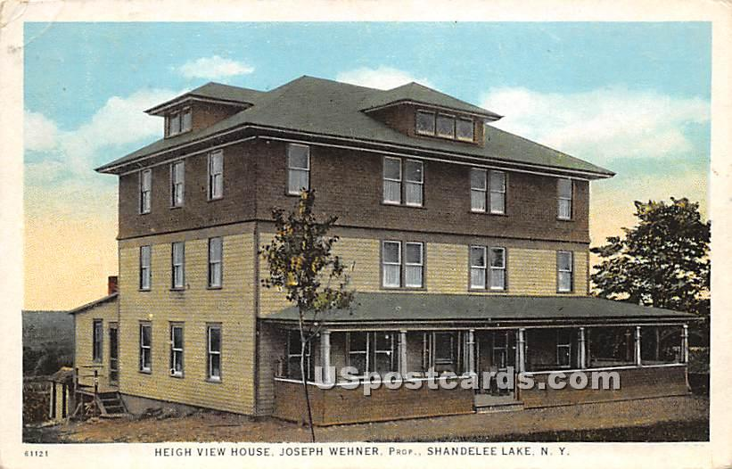 Heigh View House - Shandelee, New York NY Postcard