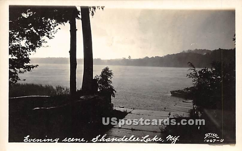 Evening Scene - Shandelee, New York NY Postcard