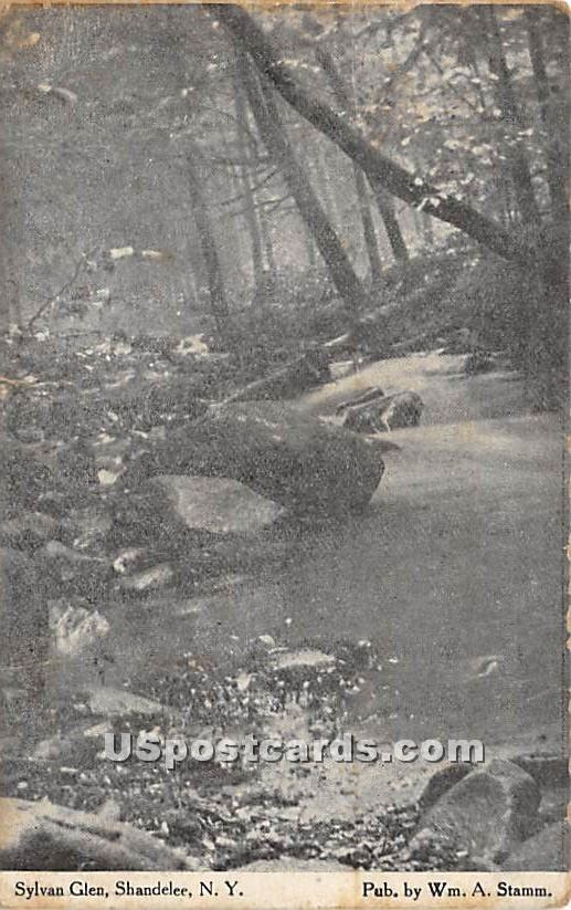 Sylvan Glen - Shandelee, New York NY Postcard