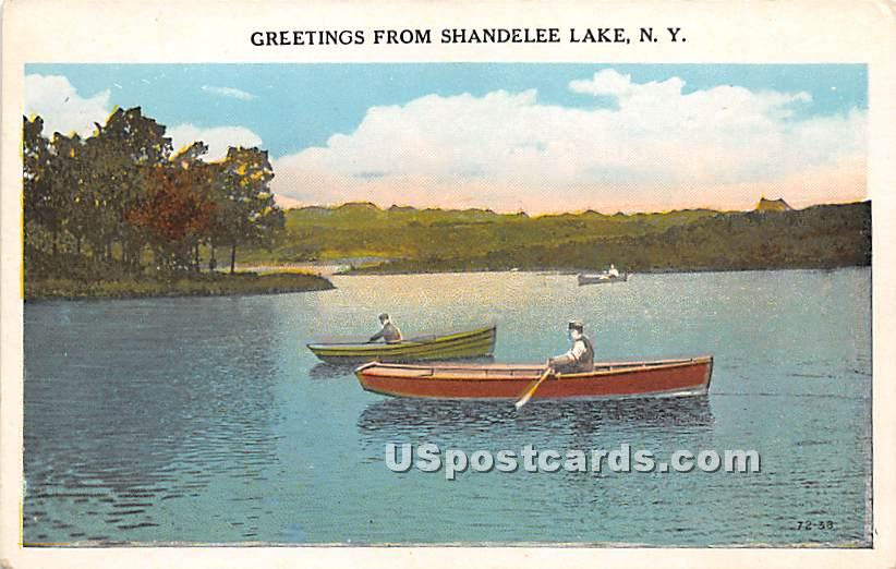 Greetings from - Shandelee, New York NY Postcard