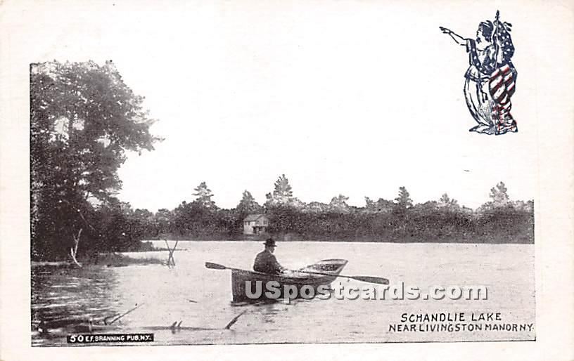 Schandlie Lake - Shandelee, New York NY Postcard