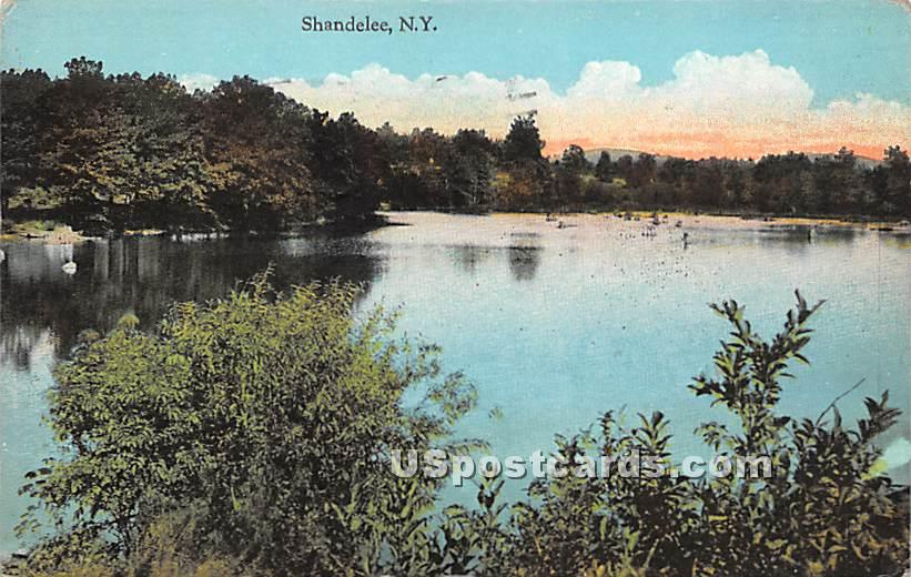 Lake View - Shandelee, New York NY Postcard