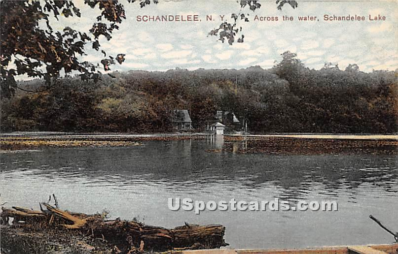 Across the Water - Shandelee, New York NY Postcard