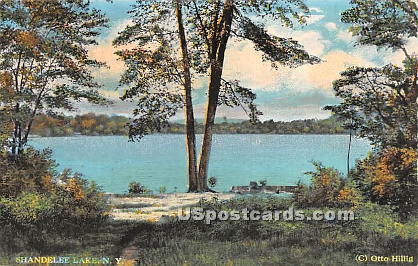 Shandelee Lake - New York NY Postcard