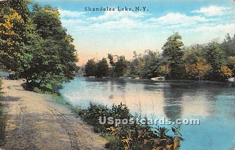 Water View - Shandelee, New York NY Postcard