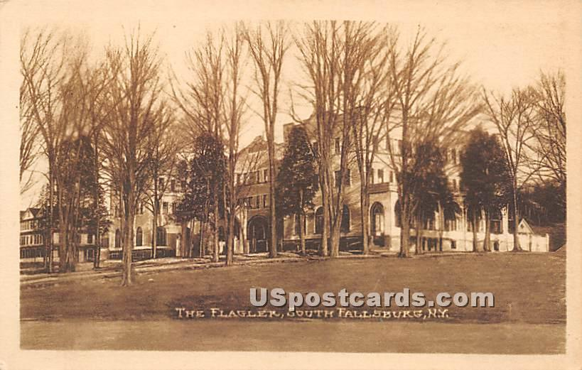 The Flagler - South Fallsburg, New York NY Postcard