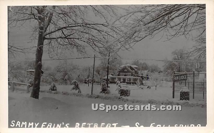 Sammy Fain's Retreat - South Fallsburg, New York NY Postcard