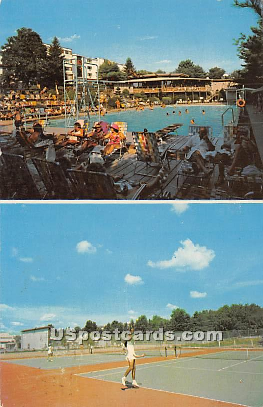 Hotel Brickman - South Fallsburg, New York NY Postcard