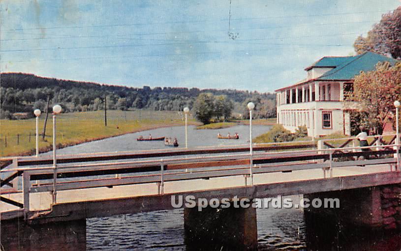 Avon Lodge - South Fallsburg, New York NY Postcard