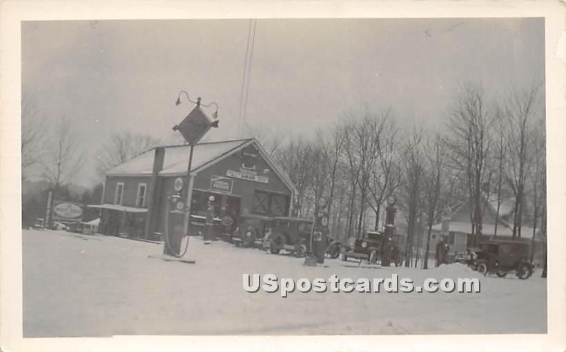 Winter Scene - South Fallsburg, New York NY Postcard