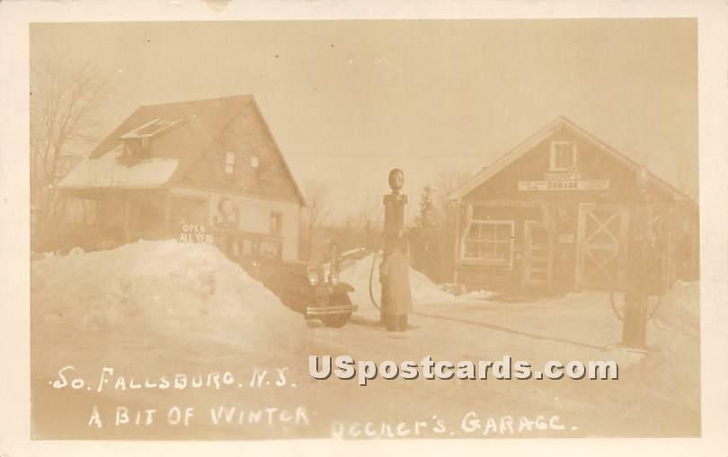 Bit of Winter - South Fallsburg, New York NY Postcard