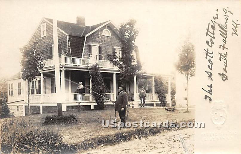 The Scott Cottage - South Fallsburg, New York NY Postcard