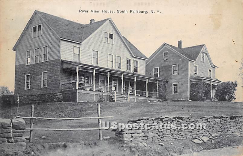 River View House - South Fallsburg, New York NY Postcard