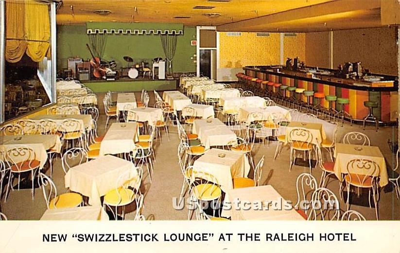 New Swizzlestick Lounge - South Fallsburg, New York NY Postcard