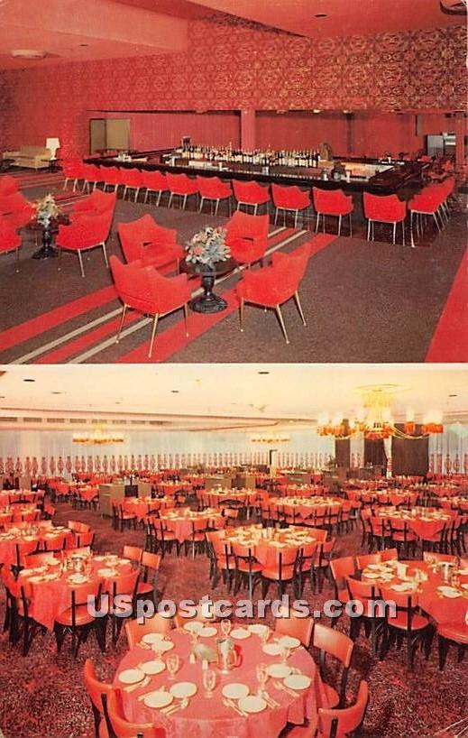 Raleigh Hotel - South Fallsburg, New York NY Postcard