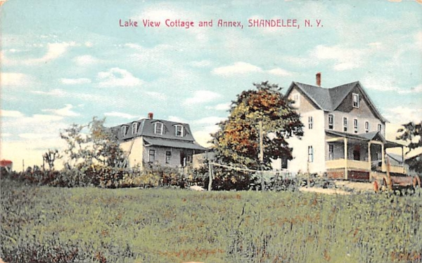 Lake View Cottage & Annex Shandelee, New York Postcard