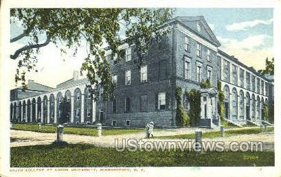 South College, Union University - Schenectady, New York NY Postcard