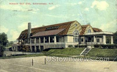 Mohawk Gold Club - Schenectady, New York NY Postcard