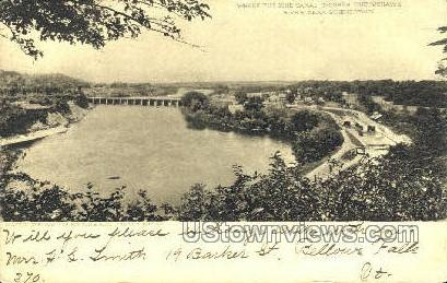 Erie Canal - Schenectady, New York NY Postcard