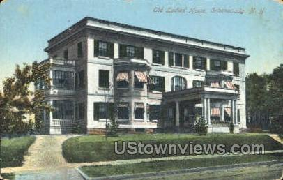 Old Ladies Home - Schenectady, New York NY Postcard