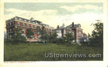 Ellis Hospital - Schenectady, New York NY Postcard