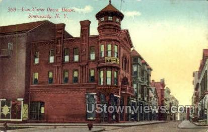 Van Curler Opera House - Schenectady, New York NY Postcard
