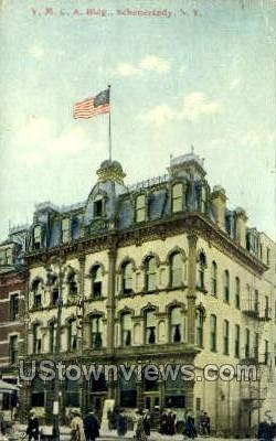 YMCA Bldg - Schenectady, New York NY Postcard