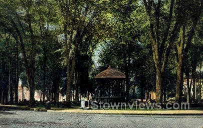 Crescent Park - Schenectady, New York NY Postcard
