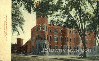 Second Regiment Armory - Schenectady, New York NY Postcard