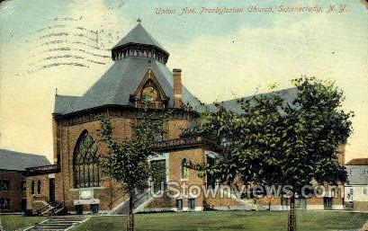 Union Ave. Presbyterian Church - Schenectady, New York NY Postcard