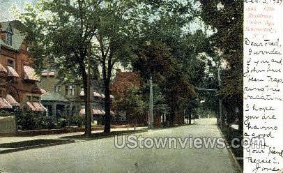 Ellis Residence, Union St. - Schenectady, New York NY Postcard