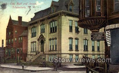 City Hall & Annex - Schenectady, New York NY Postcard