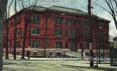 Schenectady High School - New York NY Postcard