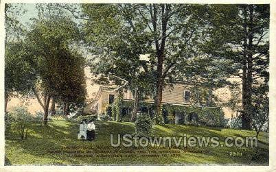 Marshall House - Schuylerville, New York NY Postcard