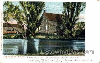 The Dovegat House - Schuylerville, New York NY Postcard