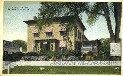 Red Lion Inn - Schuylerville, New York NY Postcard