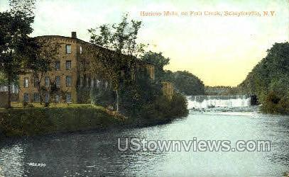 Horicon Mills - Schuylerville, New York NY Postcard